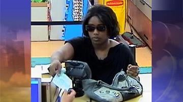 Surveillance photo of suspect wanted in an attempted bank robbery at the Bank of America inside the Fry's Food Store near McDowell and Dysart roads in Avondale. By Jennifer Thomas