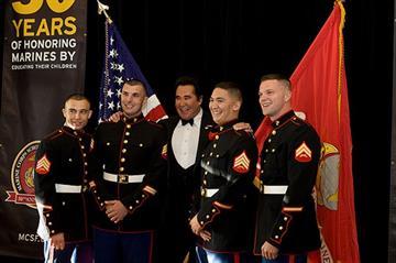 Marine Corps Scholarship Foundation Dinner By Christina Duggan