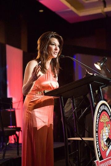 Marine Corps Scholarship Foundation Dinner - Kaley O'Kelley By Christina Duggan