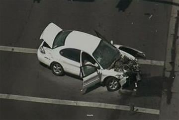 Three people were injured in a two-vehicle crash near 55th Avenue and Thunderbird Road in Glendale. By Jennifer Thomas