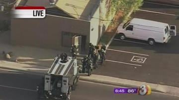 Police, SWAT, haz-mat teams converge on Phoenix business By Catherine Holland