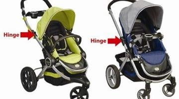 Peg Perego is recalling approximately 223,000 strollers, which include Venezia and Pliko-P3 strollers in various colors, made between January 2004 and September 2007. By Catherine Holland