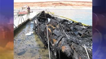 A 63-year-old Utah man was injured during a boat explosion and subsequent fire on Lake Powell. By Jennifer Thomas