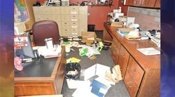 Coconino County sheriff's deputies and detectives are investigating extensive criminal damage to Cromer School in Flagstaff. By Jennifer Thomas