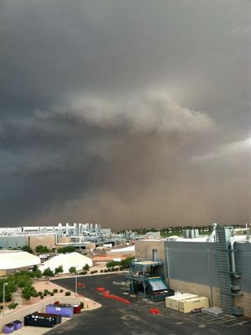 Storm in Chandler By Mike Gertzman