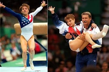 Kerri Strug 1996 Olympics By Catherine Holland