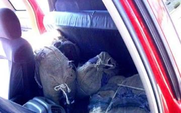 Pinal County sheriff's deputies seized more than 100 pounds of marijuana following a vehicle pursuit near Maricopa. By Mike Gertzman
