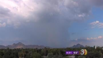 Thunderstorm near Camelback Mountain By Mike Gertzman