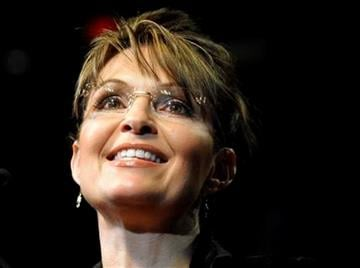 FILE - In this Feb. 7, 2010 file photo, former Alaska Gov. Sarah Palin speaks to the crowd at a campaign rally for Texas Gov. Rick Perry in Cypress, Texas. (AP Photo/Pat Sullivan) By Pat Sullivan