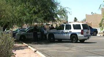 Police investigated a stabbing near McQueen Road and Galveston Street in Chandler. By Jennifer Thomas