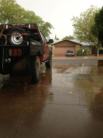 Rain in Kingman, Ariz. on Thursday By Mike Gertzman