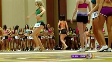 Tryouts are under way to become a dancer for the Phoenix Suns By Andrew Michalscheck