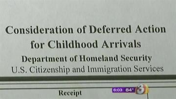 Consideration of Deferred Action for Childhood Arrivals By Catherine Holland