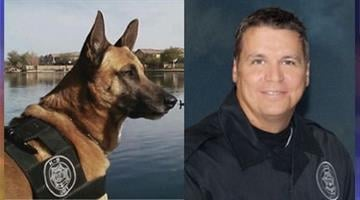 Jeg and DPS Officer Korey Lankow By Catherine Holland