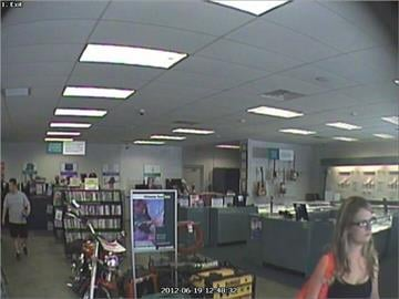 Female suspect at the SuperPawn located at 2916 E. Route 66 in Flagstaff on June 19. By Jennifer Thomas