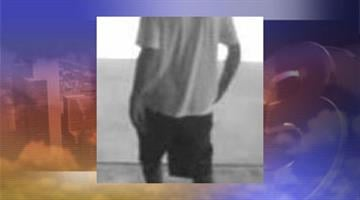 Surveillance photo of suspect in Aug. 14 robbery at Desert Schools Federal Credit Union. By Jennifer Thomas
