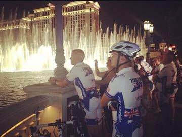 """""""The Tour of Duty Ride is an event unlike any other in the world today. It is fundamentally a celebration of the human spirit and of the moral values that transcend borders and engender a genuine sense of community."""" By Catherine Holland"""
