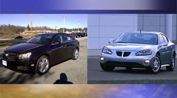Stock photos of vehicles similar to the suspect vehicle By Jennifer Thomas