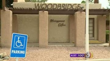 The Phoenix Police Department, and Neighborhood Services, served a search warrant Tuesday at an apartment complex accused of forcing tenants to live in deplorable conditions. By Mike Gertzman
