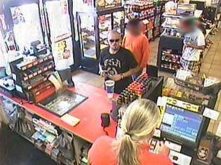 The suspects were caught on surveillance video inside a Circle K at Van Buren Street and 26th Avenue on July 23. By Jennifer Thomas