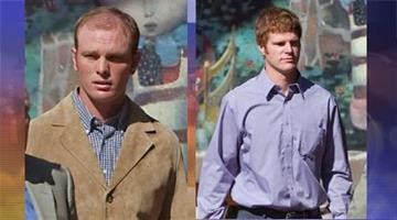 Caleb (left) and David Malboeuf made their initial court appearances in Flagstaff on Sept. 19, 2001 By Catherine Holland