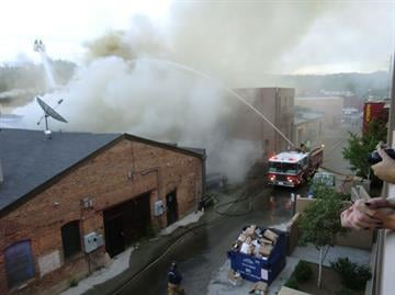 Back in May, an appliance malfunctioned and started a fire that damaged Whiskey Row's Bird Cage Saloon, Pearl's Café, and the Prescott Food Company. By Mike Gertzman