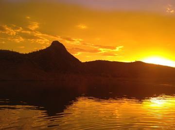 Bartlett Lake By Mike Gertzman