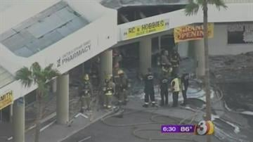 Investigators said a fire at a hookah lounge in a Phoenix strip mall early Monday morning was arson. By Catherine Holland