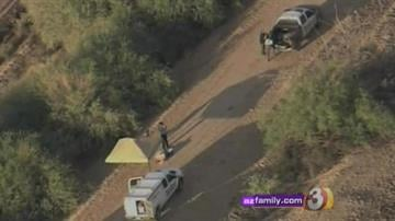 A body was found wrapped in a blanket at Picacho Lake. By Jennifer Thomas