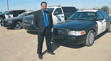 Cocopah Tribal Police Chief James Spurgeon (2009) By Catherine Holland