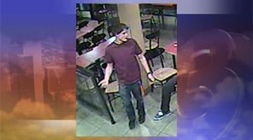 Photo of person of interest wanted in connection with an aggravated assault outside a Jack in the Box restaurant. By Jennifer Thomas