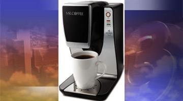 More than 600,000 Mr. Coffee single cup brewers are being recalled because of a potential burn hazard. By Catherine Holland