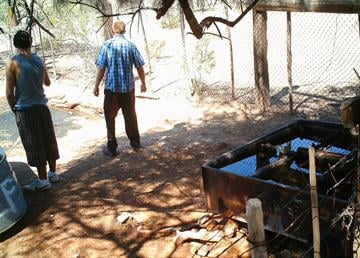 Two water troughs were stolen from a ranch in the vicinity of Avra Valley and Waterman Mountain roads northwest of Tucson. By Jennifer Thomas