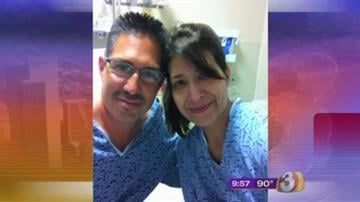 Genna Camacho and her ex-husband pre-op By Catherine Holland