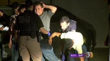 At least 40 suspected illegal immigrants were taken into custody at a Glendale home overnight. By Catherine Holland