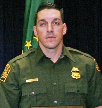 Border Patrol Agent Brian Terry, 40, who was shot and killed late Tuesday near Rio Rico By Bob Richardson