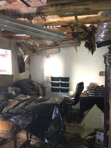 Two workers were hurt in an explosion at Rock Hard Design and Surfaces. By Jennifer Thomas
