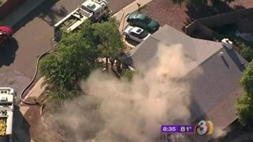 Two people were killed in an early morning house fire in Phoenix. By Catherine Holland