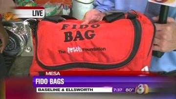 A generous donation of Fido Bags will help Mesa firefighters save pets injured in house fires. By Catherine Holland