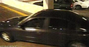 A suspect in an armed robbery at Tourneau fled in this vehicle. By Jennifer Thomas