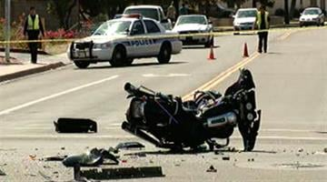 A motorcycle rider is in critical condition following a crash in Chandler. By Jennifer Thomas