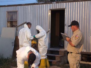 Authorities in northeastern Arizona busted a methamphetamine lab. By Jennifer Thomas