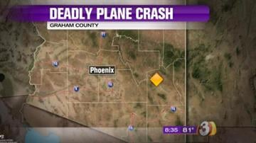 A small plane went down Sunday afternoon in rough terrain on the San Carlos Apache Indian Reservation. By Jennifer Thomas