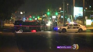 A 53-year-old man was shot while riding his bicycle near Camelback Road and 19th Avenue in Phoenix. By Jennifer Thomas
