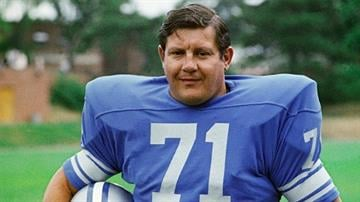 Detroit Lions' Alex Karras is shown in this 1971 photo. By Mike Gertzman