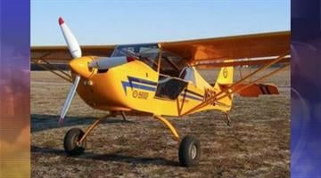 An Aeropro single-engine two-seat aircraft, similar to this one, crashed on a flight from Northern California to Arizona. By Catherine Holland