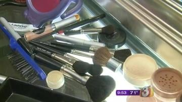 Zethina is a celebrity makeup artist based in Glendale. She says we need to clean our brushes every two weeks. By Catherine Holland