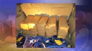 Bundles of marijuana was found in a vehicle during a traffic stop on Interstate 8. By Jennifer Thomas