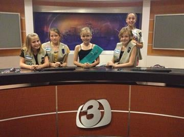 Girl Scout Tour Troop 3TV By Christina Duggan
