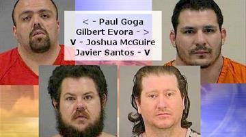 Paul Goga, Gilbert Evora, Joshua McGuire and Javier Santos By Catherine Holland